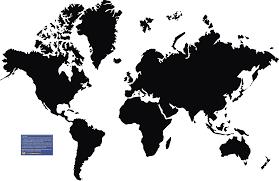 World Map Continents by World Map Continents Black And White Id 56534 U2013 Buzzerg