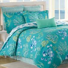 beachcomber turquoise ocean 8 pc comforter bed set click to expand