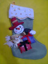 muñecos soft bota navideña con snowman christmas boot