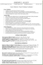list resume examples