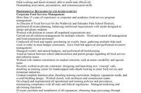 Food Service Resume Examples by Food And Beverage Manager Resume Our 1 Top Pick For Beverage