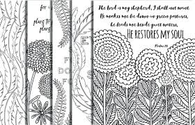 Coloring Pages With Bible Verses 5 Hand Drawn Bible Verse Coloring Bible Verses Coloring Sheets