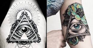 the wonders of the all seeing eye tattoos