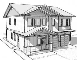 Drawing Houses | direct easy houses to draw how a house in 1 point perspective