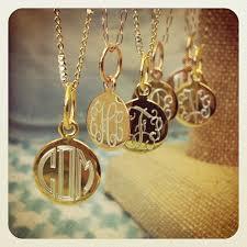 monogrammed gold necklace flutter monogram necklace monograms and holidays