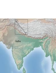 Himilayas Map Karakoram Fault System Wikipedia