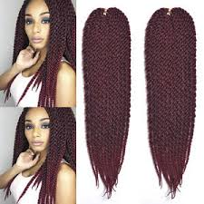 ombre crochet braids 3d cubic twist crochet braids 22 box braids hair ombre 1b silver
