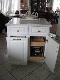 kitchen kitchen island with trash storage inside splendid