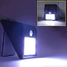 Outdoor Dusk To Dawn Light Equinox International 10 Led Motion Sensor Solar Light Dusk To