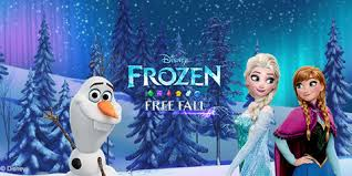 frozen free fall disney lol games