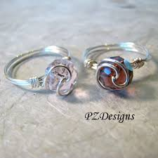 simple wire rings images Silver serpent studio 39 s blog diy simple wire wrapped ring tutorials jpg
