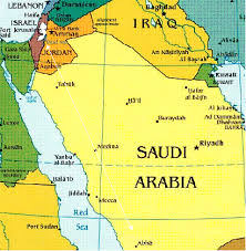 middle east map medina where was mohammed www free minds org