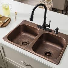 33 x 22 drop in kitchen sink sinkology raphael 33 x 22 double bowl drop in kitchen sink