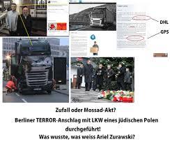 K Hen Berlin Zufall Oder Mossad Akt Berliner Terror Anschlag Mit Lkw Eines