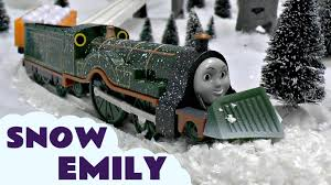 thomas u0026 friends snow clearing emily trackmaster kids toy train