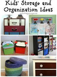 kids u0027 storage and organization ideas in the garage