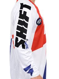 motocross jersey canada shift white red 2016 faction mx jersey shift freestylextreme