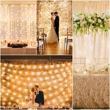 wedding backdrop with lights easy wedding lighting ideas fabulous st paul home shines with