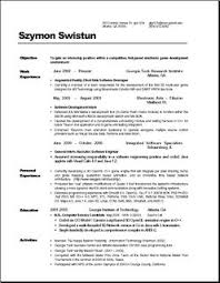 Resume For Computer Science Graduate Computer Science Phd Student Resume Www Iwiwatches Com