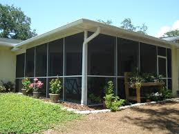 Shed Roof Screened Porch Screen Rooms Pyramid Aluminum