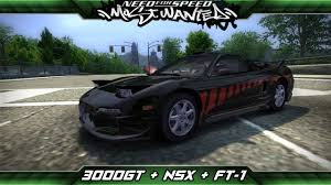 mitsubishi 3000gt 2005 need for speed most wanted mod showcase mitsubishi 3000gt