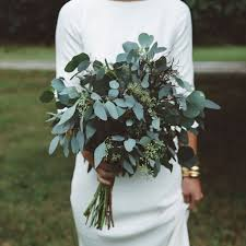 wedding flowers greenery picture of greenery wedding bouquets especially eucalyptus ones