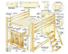 Woodworking Plans For Storage Beds by Queen Size Bunk Bed Plans Stuff For Me Pinterest Bed Plans