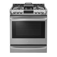 Gas Cooktops Canada Lg Lsg5513st 30 In 5 Burner 6 3 Cu Ft Slide In Convection Gas