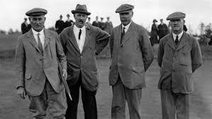how did the scottish men plait and club their hair branshaw golf club