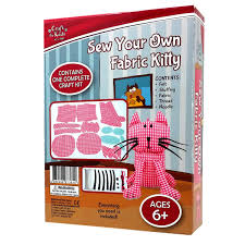 sew your own fabric kitty by craft for kids u2013 daves deals