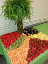 fruit table display ideas this is a little fancy but it might be nice to have a fruit