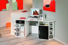 le de bureau pour enfant bureau d angle contemporain blanc et noir fabrice bureau
