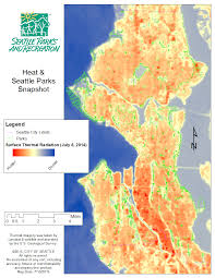 Map Of Seattle When Seattle Heats Up Its Forests Stay Cool Green Seattle