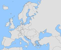 blank map of europe during ww2