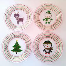 christmas plate decorative christmas plate christmas2017