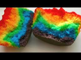how to make rainbow cupcakes youtube