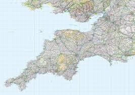 Cheshire England Map by Custom Made Map Wallpaper From Love Maps On