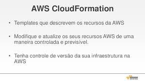 programando sua infraestrutura com o aws cloudformation
