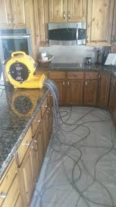 Water Damaged Kitchen Cabinets by Taylorsville Utah Fire Damage Remediation