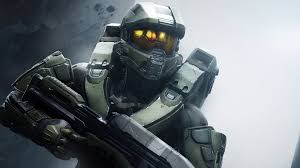 hd background halo master chief guardians game character shooter