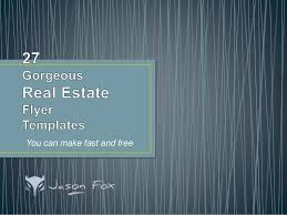 real estate flyers templates free 27 gorgeous real estate flyer templates you can create fast and free