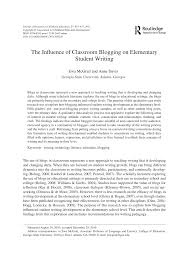 lucy calkins writing paper the influence of classroom blogging on elementary student writing the influence of classroom blogging on elementary student writing pdf download available
