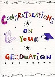 congratulations on your graduation card finished with silver