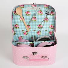 Pink Kitchen Accessories by Kids Kitchen Cooking Box Set Pastel Pink