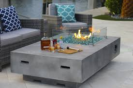Patio Table With Firepit Concrete Pit Table Desire Along With 13 Leandrocortese Info