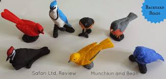 munchkin and bean backyard birds safari ltd review