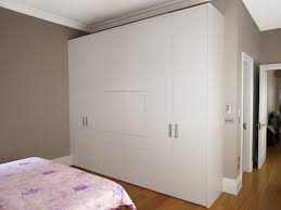 White And Wood Bedroom Furniture Bedroom Bespoke Built In Fitted Wardrobe Mirrored Dark Wood
