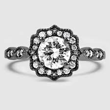black engagement rings images Black rhodium engagement ring cadenza halo brilliant earth jpg