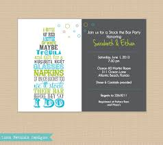stock the bar party stock the bar invitation any colors by lunapetuniadesigns