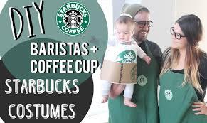 Starbucks Halloween Costume Kids Diy Starbucks Costumes Baristas Coffee Cup Glammandie